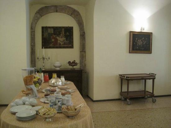 Ristorante Albergo La Casa di Gianna: buffet mattutino
