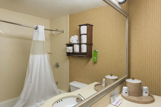 Hampton Inn Merrillville: Guest Bathroom
