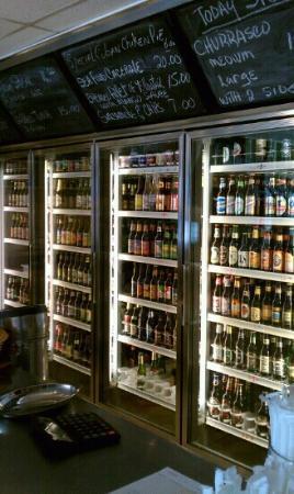 Laura's Cuban: mmmm... beer!
