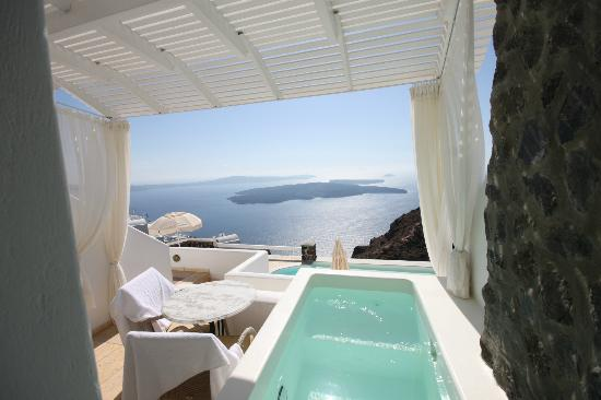 Tholos Resort: honeymoon suite