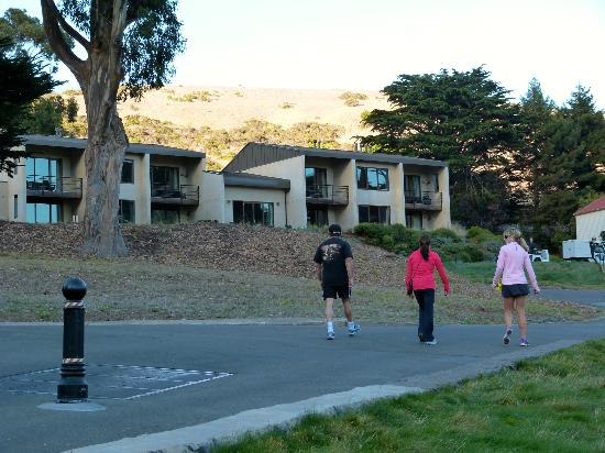 Cavallo Point: walking to our room
