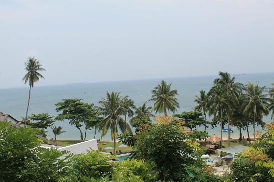 Turi Beach Resort: View from the room...