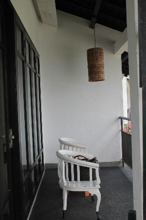 Turi Beach Resort: Room's balcony