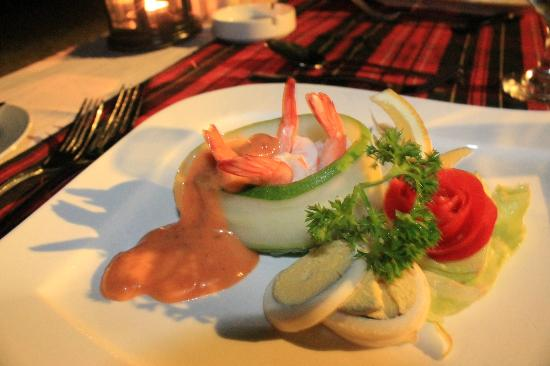 Turi Beach Resort: Yummy appetizer...