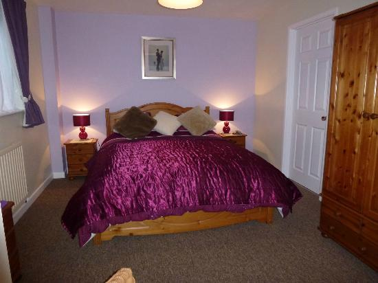 The Walled Garden B & B: double room