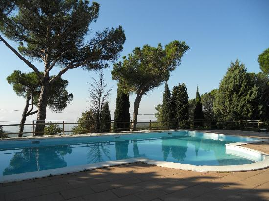 Lisciano Niccone, Italia: piscina