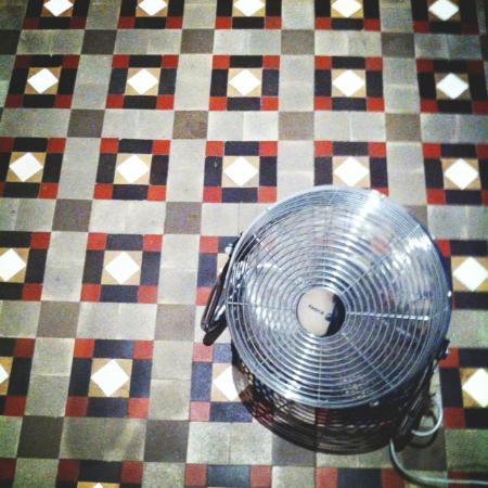 Hostal Martina: Ventilatore