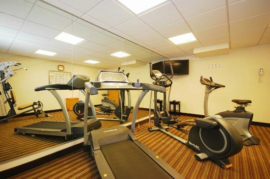 بست ويسترن بلس نيوآرك/كريستيانا إن: Fitness Center