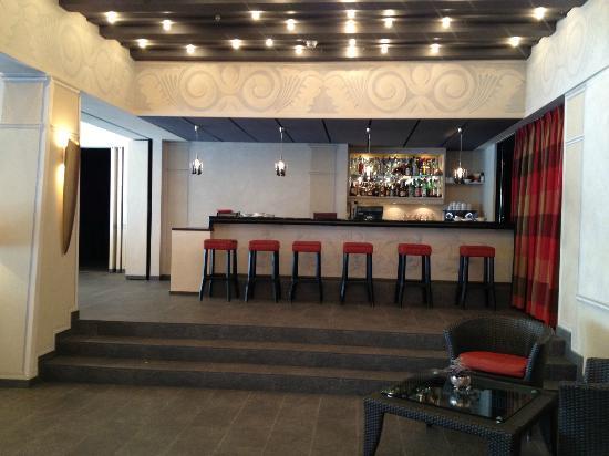 Gstaad Palace Hotel: Bar SPA extérieur