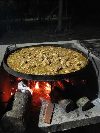 Hotel Che Roga: Pollo al disco en el quincho