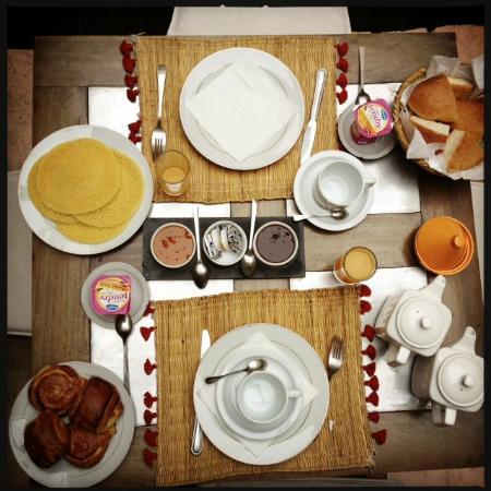Riad de Vinci: Petit dejeuner