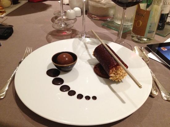 Les Jardins d'Aliénor : dessert chocolat