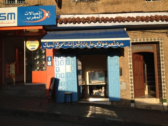 Moulay Ali Ben Rachid Restaurant : fresh seafood here