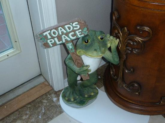 Toad Hall Manor Bed and Breakfast: Welcome