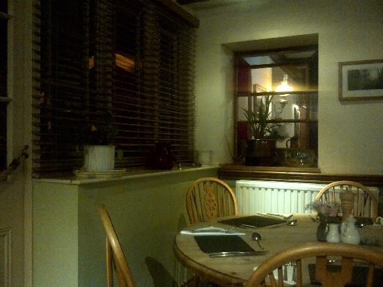 Falcon Inn: A corner of the restaurant area