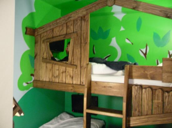 The Gullivers Hotel: Great for the little one