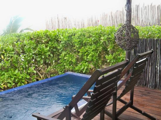 Le Reve Hotel & Spa: Plunge pool