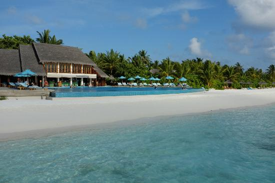 Anantara Dhigu Maldives Resort: Aqua Pool and Bar