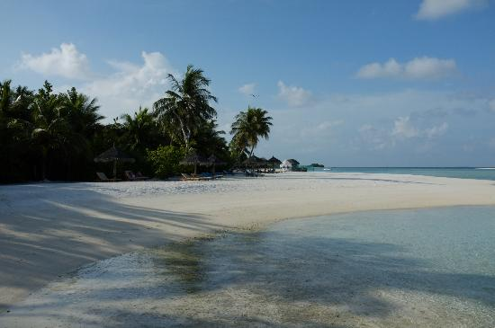 Anantara Dhigu Maldives Resort: Beautiful beach