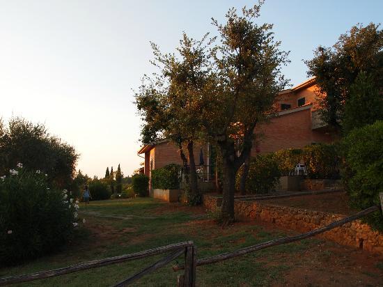 Residence La Casetta: Vor den Wohnungen