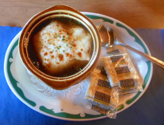 The Antique Inn: French Onion Soup