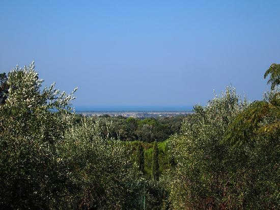 Residence La Casetta: Aussicht von der Terasse