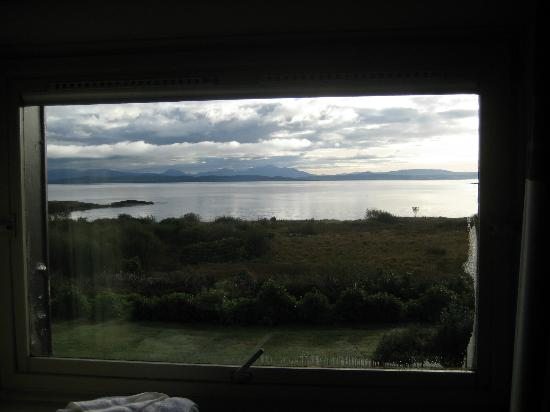 Isle of Mull Hotel & Spa: The view from our window.