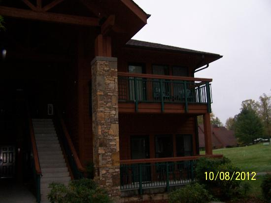 Bent Creek Golf Village: Our rooms second floor