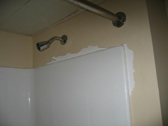 Rodeway Inn Pigeon Forge : peeling paint