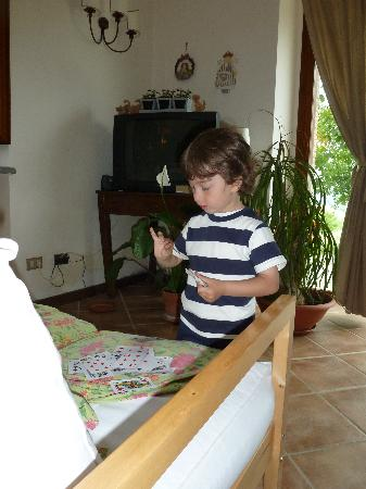 Agriturismo Cioccoleta: Fredrico teaching me to count in Italian