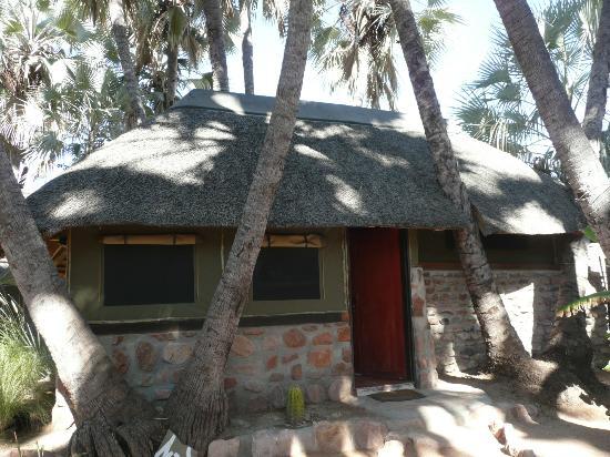 Omarunga Lodge & Campsite : tente mi dure mi toile