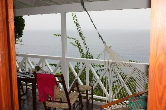 Ti Kaye Resort & Spa: View from the porch of room L