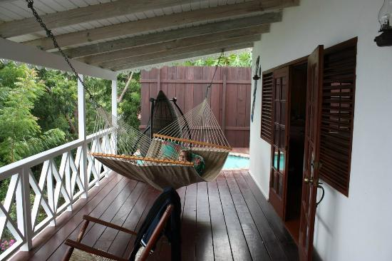 Ti Kaye Resort & Spa: Porch - Room L