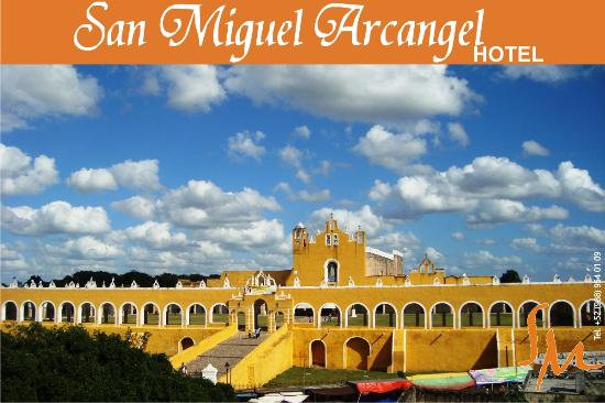chill area picture of hotel san miguel arcangel izamal. Black Bedroom Furniture Sets. Home Design Ideas