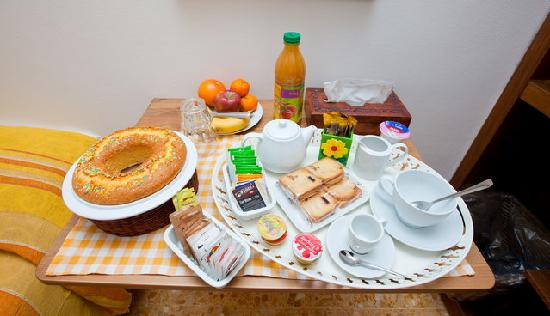 B&B Agli S.Vitati ai Vaticani: colazione