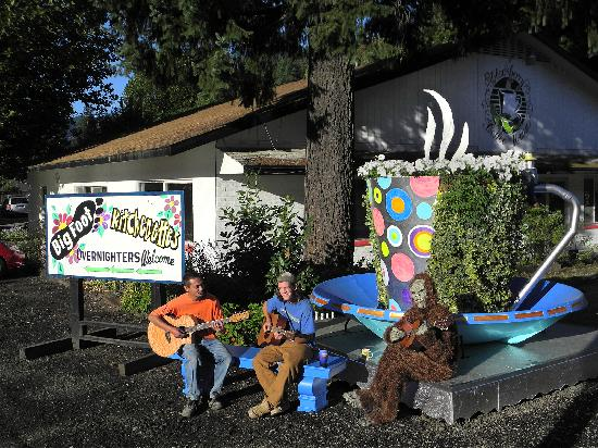 Big Foot RV Park & Cabins: Comming soon, the Blackberry Coffee House