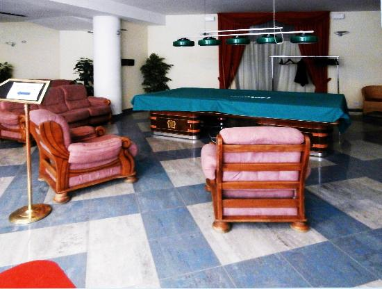 Hotel Savoy Palace - TonelliHotels: Recreational area is in the basement