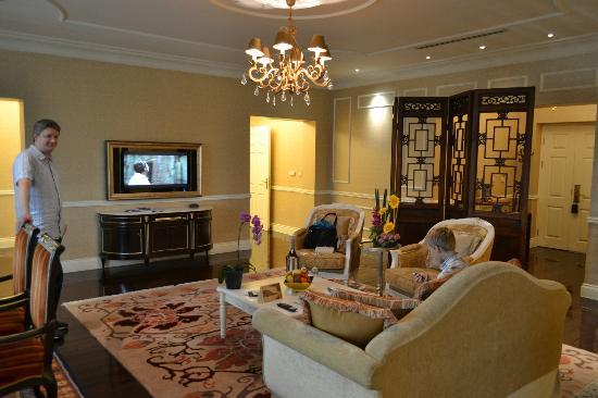 โรงแรมราฟเฟิลส์ ปักกิ่ง: Living Room