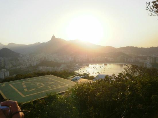 Morro da Urca : Pôr do sol do Morro -