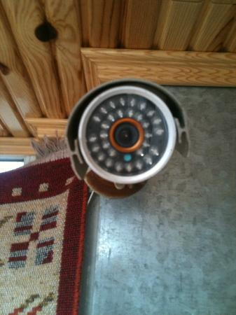 Sefa Hotel: cctv... they watch you!