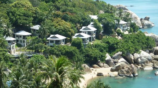 Ban Sua Samui: Blick zum Strand