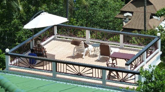 Ban Sua Samui: Terrasse