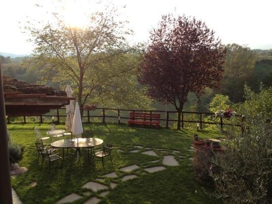 Scarperia, Italia: il giardino