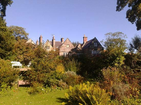 Thorpe Hall: View of hotel from gardens