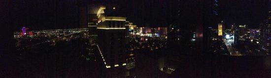 Vdara Hotel & Spa at ARIA Las Vegas: Panoramic View from City Corner Suite