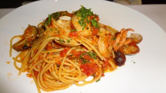 seafood pasta pescatore picture of taormina sicilian cuisine honolulu tripadvisor. Black Bedroom Furniture Sets. Home Design Ideas