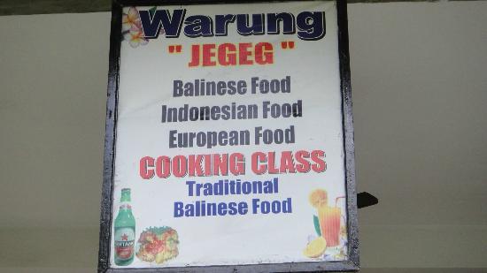 Warung Jegeg: .