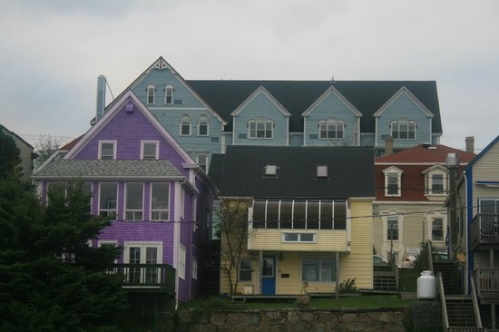 Lunenburg Arms Hotel: View from the Bay...our room top right