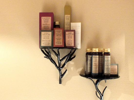 Main Street Hotel: Luxurious bathroom toiletries