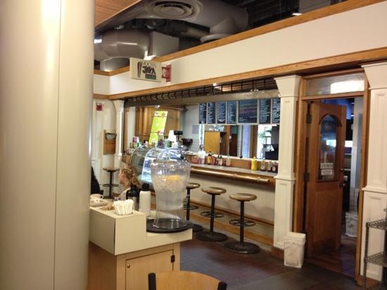Mocha Java Cafe: inside of mall